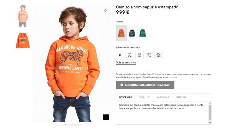 Internautas acusam varejista H&M de anúncio racista