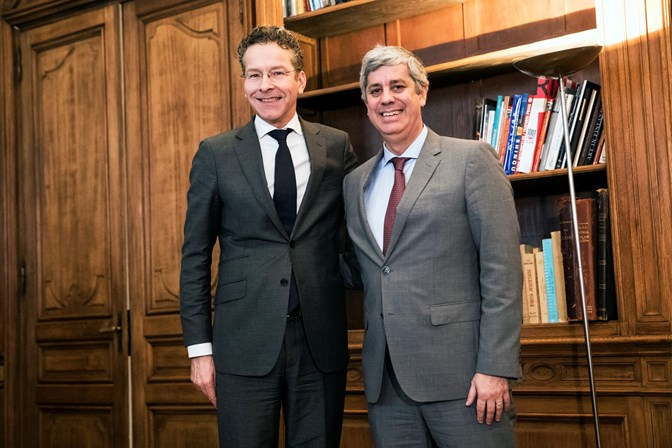 Português Mário Centeno já tocou o sino que o torna líder do Eurogrupo