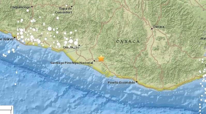 Terremoto de magnitude 7,2 é registrado no México