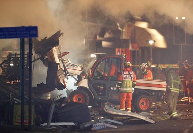 Forte explosão em Leicester faz pelo menos seis feridos