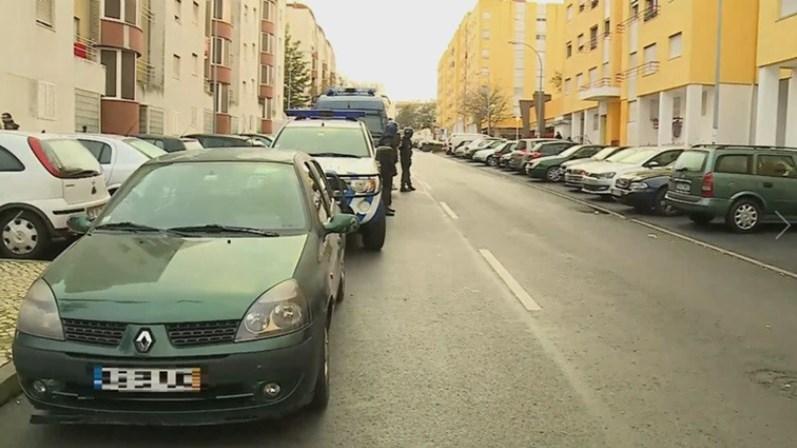 PSP realiza 15 buscas domiciliárias em bairros de Lisboa