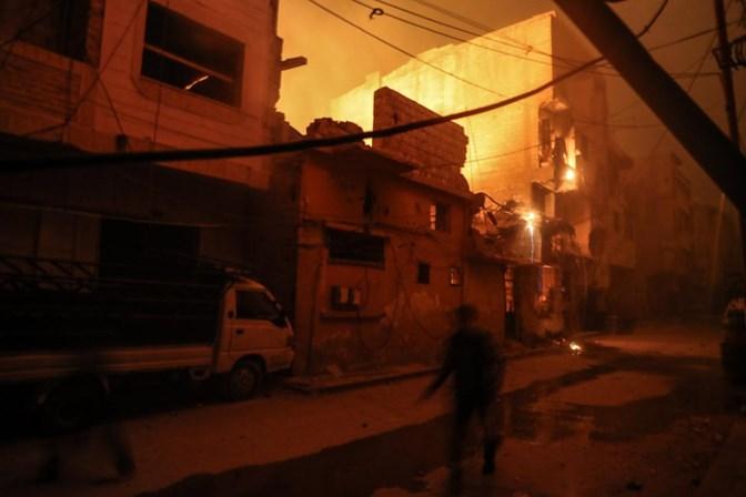 OMS diz que 500 sírios tiveram sintomas de exposição a gás tóxico