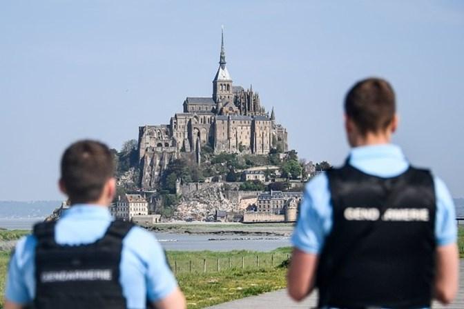 Mont-Saint-Michel evacuado