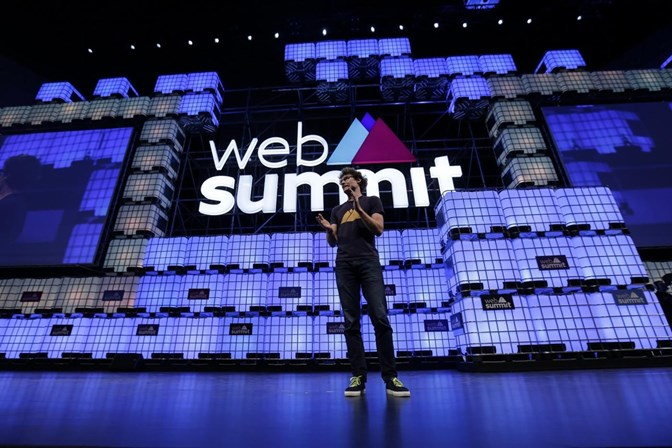Presidentes do eBay e da Nestlé no Web Summit