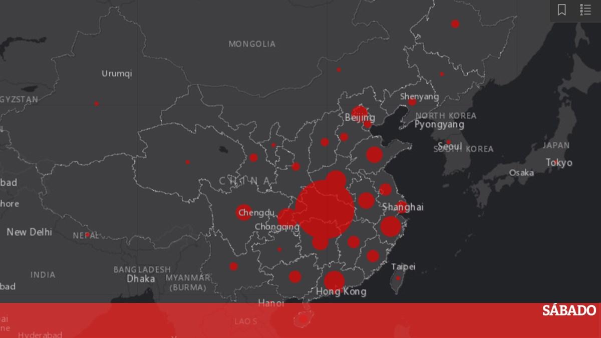 Este Mapa Interativo Mostra A Propagacao Do Coronavirus Em Todo O