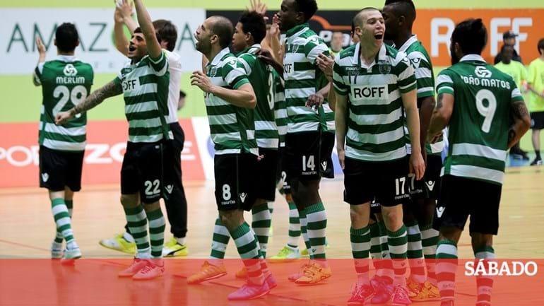 fee269fc28 Sporting vence Benfica no dérbi de futsal - Desporto - SÁBADO