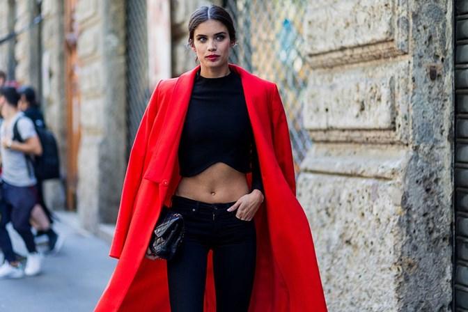 4561f1a86 Sara Sampaio arrasa na Semana da Moda de Milão - Social - SÁBADO