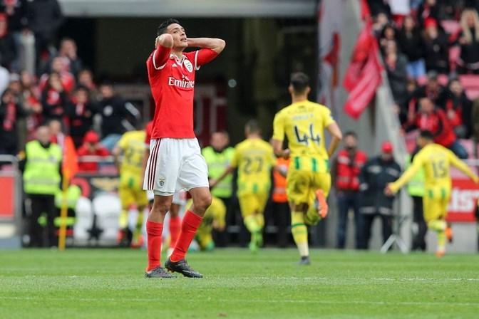 Resultado Benfica Hoje: Benfica Perde Com Tondela Por 3-2
