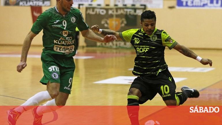 48501002e3 Sporting bate Fabril e conquista sexta Taça de Portugal em futsal - Futebol  - SÁBADO