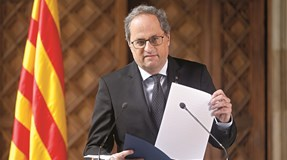 Presidente do Governo da Catalunha, Quim Torra, diagnosticado com coronavírus